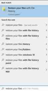 Type-Restore-Your-Files-on-search-bar